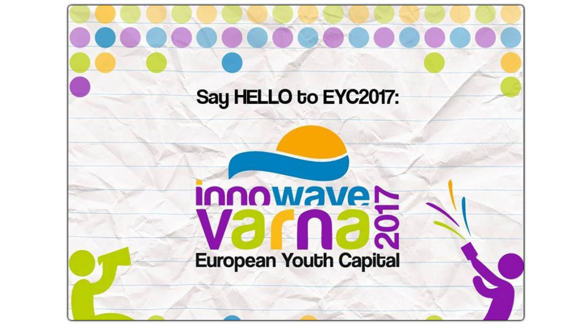 "Develop and design a website for "" Varna - European Youth Capital 2017 """