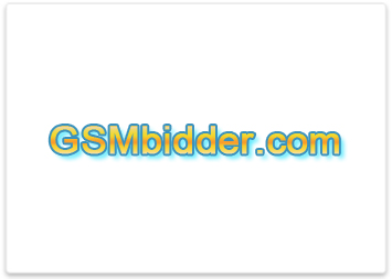 Website design and online auction development for GSM Bidder.