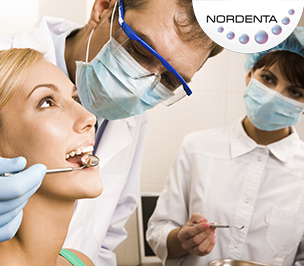 Pay-per-click campaign for Dental clinic Nordenta