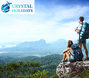 "Website design and website development for tour agency ""Cristal Holidays"""